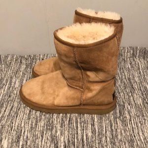 UGG chestnut boots size 6